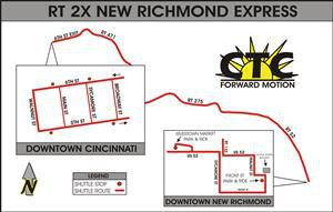 Route 2x New Richmond Express Clermont Transportation