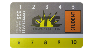 image of student ride card